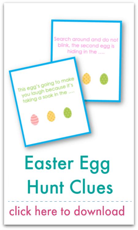 easter egg hunt clues