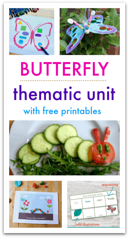 butterfly thematic unit activities