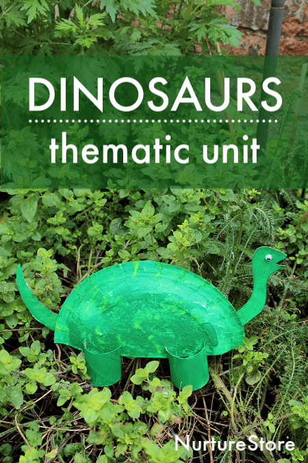 dinosaur thematic unit ideas