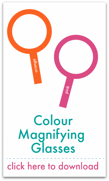 colour magnifying glasses