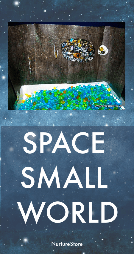 space themed imaginary play land