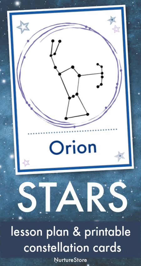 star constellation cards printable