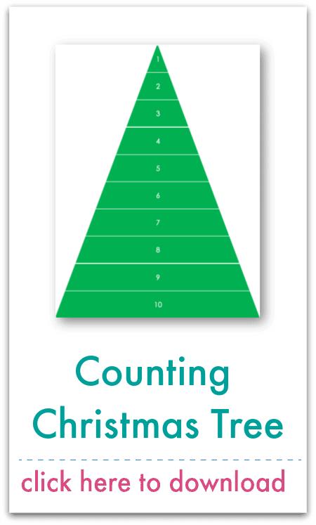 counting christmas tree