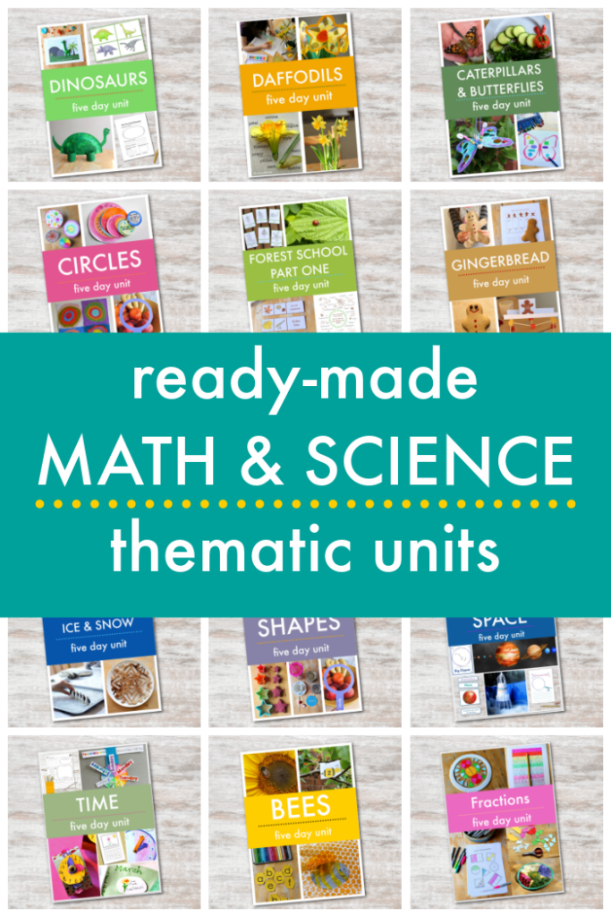 ready made math and science thematic units covers